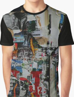 Torn Posters Graphic T-Shirt