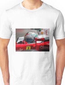 Ferrari formula 1 Sebastian Vettel Unisex T-Shirt