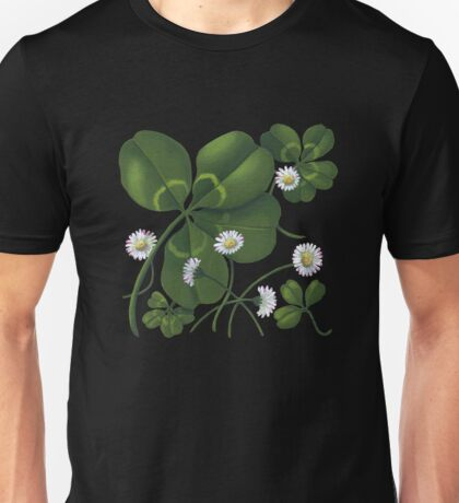 Cloverleaf - acrylic painting Unisex T-Shirt