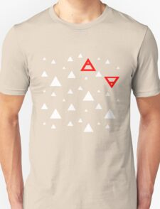 Air&Earth (AV) white triangles T-Shirt
