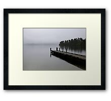 Lakeside reverie Framed Print