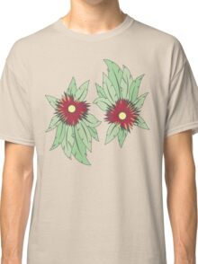 growing flowers on concrete Classic T-Shirt