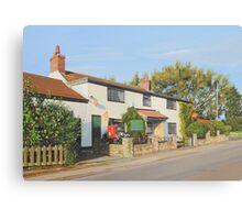 Clayworth Post Office Canvas Print
