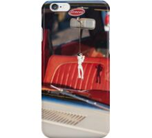 King of rock and roll hung in the rearview mirror iPhone Case/Skin