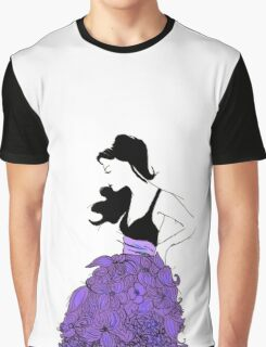 The Flower Girl Graphic T-Shirt
