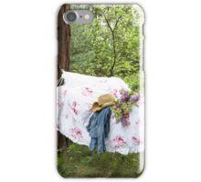 Summer Hammock in bloom iPhone Case/Skin