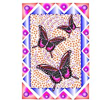 pink butterfly 30 Photographic Print