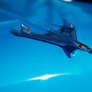 Chevy BelAir hood ornament by htrdesigns