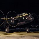 """Lancaster B.VII NX611 G-ASXX  """"Just Jane"""" out of darkness by Colin Smedley"""