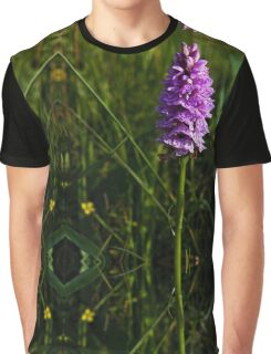 Spotted Orchid, Kilclooney, Donegal Graphic T-Shirt