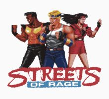 STREETS OF RAGE - AXEL-BLAZE-ADAM  One Piece - Short Sleeve