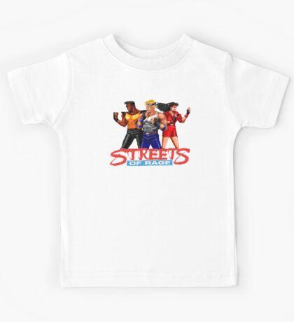 STREETS OF RAGE - AXEL-BLAZE-ADAM  Kids Tee