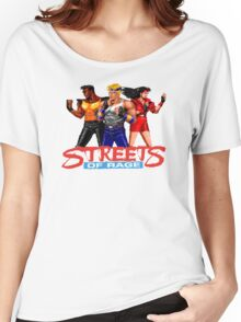 STREETS OF RAGE - AXEL-BLAZE-ADAM  Women's Relaxed Fit T-Shirt