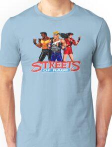 STREETS OF RAGE - AXEL-BLAZE-ADAM  Unisex T-Shirt