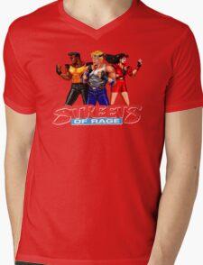 STREETS OF RAGE - AXEL-BLAZE-ADAM  Mens V-Neck T-Shirt