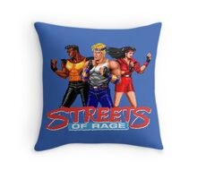 STREETS OF RAGE - AXEL-BLAZE-ADAM  Throw Pillow