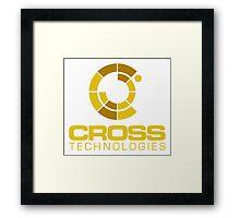 CROSS TECHNOLOGIES Framed Print