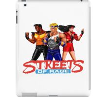 STREETS OF RAGE -AXEL-BLAZE-ADAM iPad Case/Skin