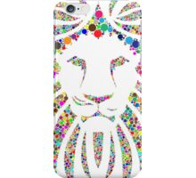 lion abstract  iPhone Case/Skin
