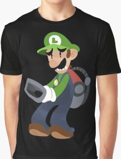 Little Luigi Poltergust 3000 Graphic T-Shirt