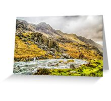Where the Valley runs beautiful Greeting Card