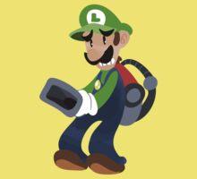 Little Luigi Poltergust 3000 Kids Tee