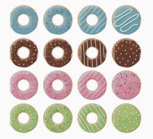 16 Donuts 01 Kids Tee