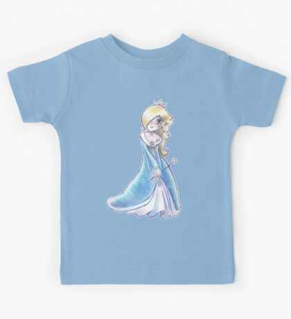 Rosalina - Colored Pencil Drawing Kids Tee
