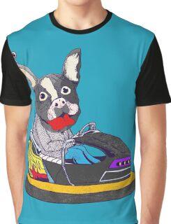 French bulldogs loves go kart Graphic T-Shirt