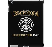 fathers day gift firefighter iPad Case/Skin