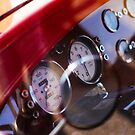Vintage customized car dashboard by htrdesigns