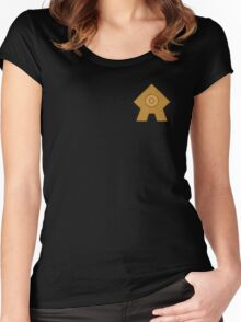 United Republic emblem Women's Fitted Scoop T-Shirt