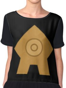 United Republic emblem Chiffon Top