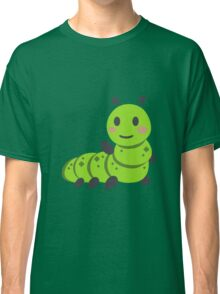 Caterpillar/Bug Waving Emoji Classic T-Shirt
