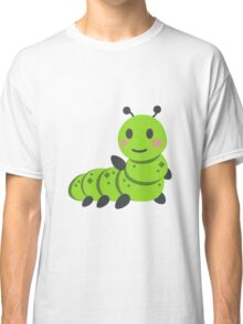 Caterpillar/Bug Waving Emoji Classic T-Shirt