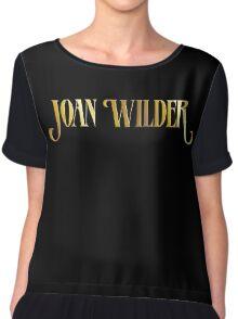 Joan Wilder Chiffon Top