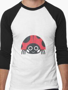 Ladybug Emoji Men's Baseball ¾ T-Shirt