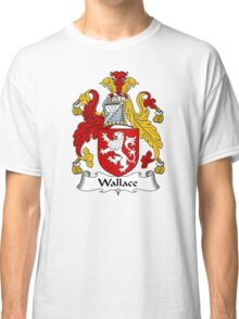 Wallace Coat of Arms / Wallace Family Crest Classic T-Shirt