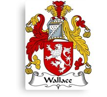 Wallace Coat of Arms / Wallace Family Crest Canvas Print