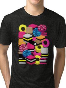Liquorice Picturish Tri-blend T-Shirt