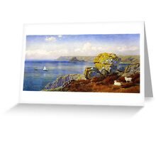 John Brett, Carthillon Cliffs Greeting Card