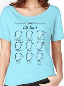 An Auricular Guide to the Elven Peoples Women's Relaxed Fit T-Shirt