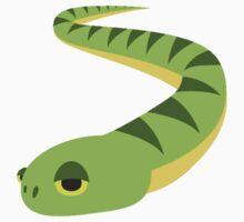 Snake Emoji One Piece - Short Sleeve