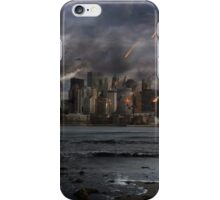 Destruction in the city iPhone Case/Skin