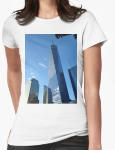 Freedom Tower - One World Trade Centre - NYC New York Womens Fitted T-Shirt
