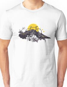 Gifted Jester - Cycling Adventure Unisex T-Shirt