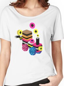 Liquorice Allsorts Train Women's Relaxed Fit T-Shirt
