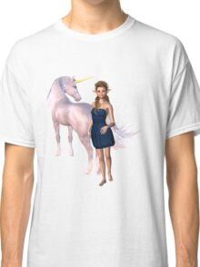 Unicorn Elf Willow Rain Love Classic T-Shirt