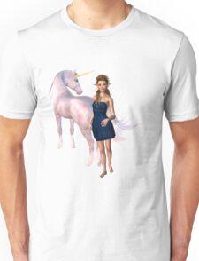 Unicorn Elf Willow Rain Love Unisex T-Shirt