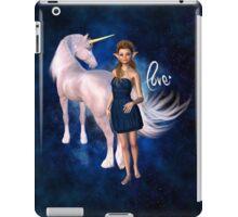 Unicorn Elf Willow Rain Love iPad Case/Skin